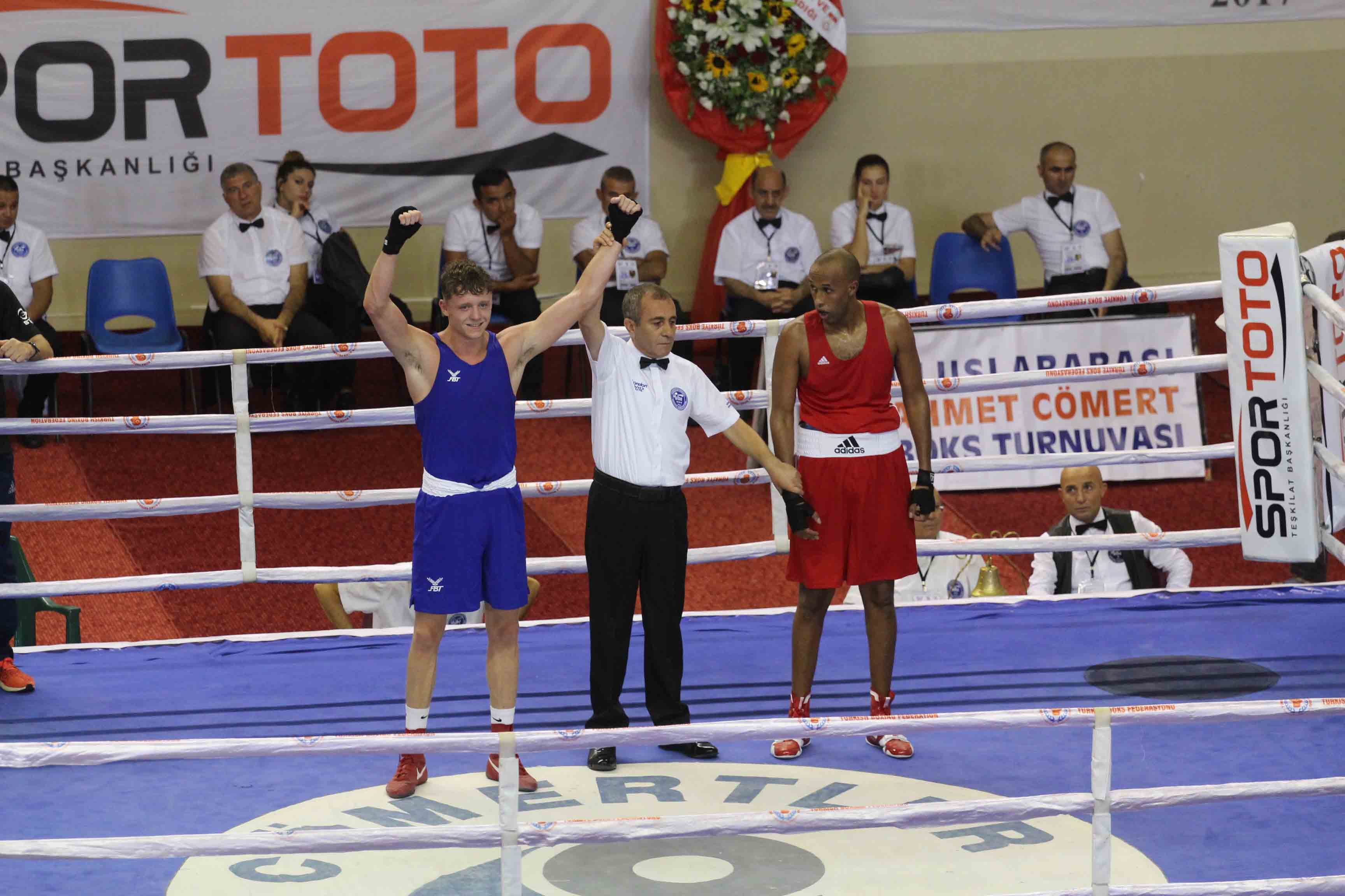 GB Boxers return to competitive action in Ahmet Comert tournament ...